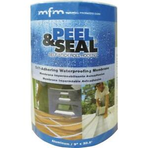 Peel Seal Aluminum Roll Roofing 1 Each