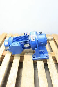 Sm cyclo Chhms1 6130c b 59 Gearmotor 29 7rpm 3ph 1hp 460v ac