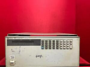 Hp Agilent Keysight 6050a Electronic Load Mainframe Sn 3211a01961