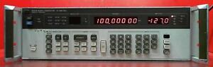Hp Agilent 8656b 002 Synthesized Signal Generator 0 1 To 990 Mhz Sn 2703u03634