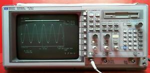 Hp Agilent 54520a Digital Oscilloscope 500mhz 2 channels Sn Us34360564