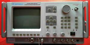 Motorola R2660c Wireless Communications Analyzer Sn 496kya0026