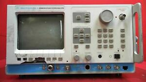 Motorola R2670a Communications System Analyzer For Parts W Options