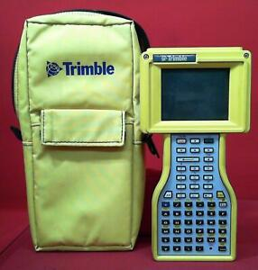 Trimble Tsce Total Station Gps Data Collector W Survey Controller And Soft Case