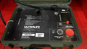 Ultralife Batteries Military Power Supply Ch0018 28vdc 1500 Watt Output Max
