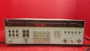 Hp Agilent 3325a Synthesizer function Generator for Parts Or Repair