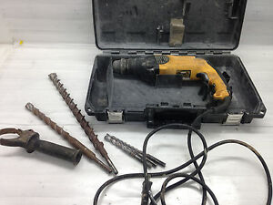 Dewalt 1 Corded Rotary Hammer Model D25101 W Hard Case Bits