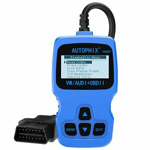 For Audi Volkswagen Obd2 Obdii Car Diagnostic Scanner Transmission Abs Srs Eng