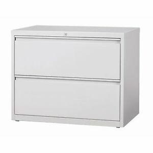 8000 Series 36 Wide 2 drawer Lateral File Cabinet Light Gray