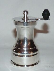 Antique English Pepper Mill Grinder 1931 Birmingham Sterling Silver C