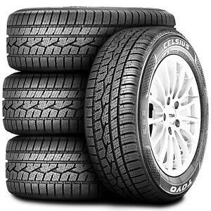 4 New Toyo Celsius 235 40r18 95v Xl A S All Season Winter Safety Driving Tires