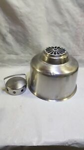 Stainless Steel Milk Can Funnel Filter Heavy Good Quality Used 14 Across