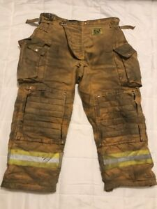 Morning Pride Firefighter Turnout Pants Bunker Gear W Liner 40 X 30 2009