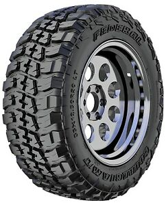 4 New Federal Couragia M T Lt265 75r16 123 120q E 10 Ply Mt Mud Tires