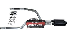 Dodge Dakota 97 05 2 5 Dual Truck Exhaust Kits Flowmaster 40 Series