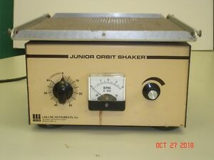 Lab line Variable Speed Junior Orbital Shaker Mod 3520 120v 100w 1 0a Working
