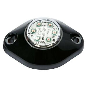 Hide a led 9014 Hideaway Strobe Light Series In headlight Flange 1 Hole Or