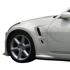 For Nissan 350z 03 08 Ait Racing Vip Style Fiberglass Front Fenders Unpainted