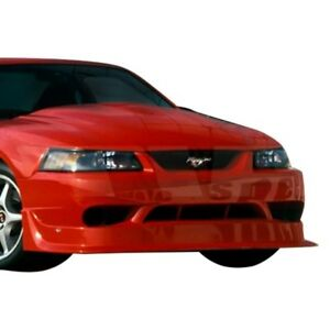 For Ford Mustang 99 04 Cobra R Style Fiberglass Front Bumper Cover Unpainted