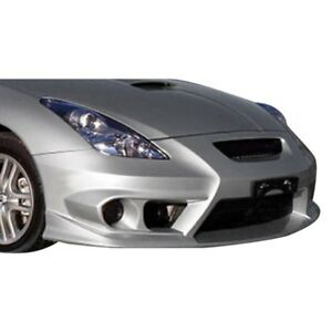 For Toyota Celica 00 05 Trd Style Fiberglass Front Bumper Cover Unpainted