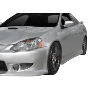 For Acura Rsx 2002 2006 Ait Racing Cw Style Fiberglass Side Skirts Unpainted