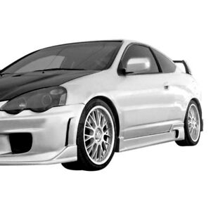 For Acura Rsx 2002 2006 Ait Racing I Spec Style Fiberglass Side Skirts Unpainted