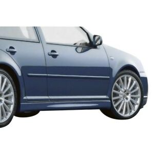 For Volkswagen Golf 99 04 Ait Racing R32 Style Fiberglass Side Skirts Unpainted