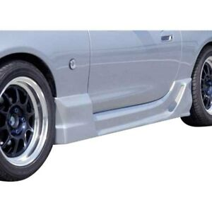 For Mazda Miata 1999 2001 Ait Racing Wize Style Fiberglass Side Skirts Unpainted