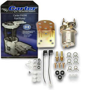 Carter P4594 Fuel Pump Electric Inline Pressure Transfer Gas Diesel Kn