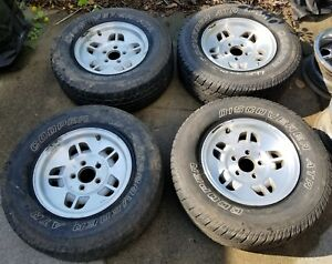4 Original Ford Ranger Oem Wheels Rims 14 X 6 Cooper Atr M S 225 70