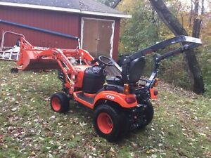 2017 Kubota Bx23s With 60 Mower Loader And Backhoe Only 56 Hours