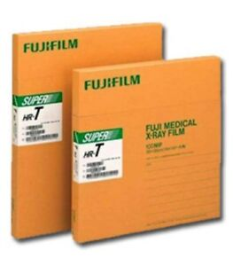 Hr t 10 X12 Fuji Green X ray Film 10 X 12 new box Of 100 Sheets Free Shipping