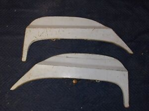 Original Fomoco Ford 1964 1965 1966 Thunderbird Fender Skirts Pair 390 427 428