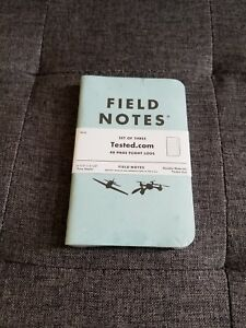 Field Notes Tested Flight Log 3 Pack Brand New Unopened