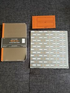 Field Notes black Ice 3 pack Sealed Fnc 33 With Extras