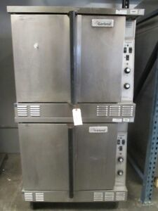 Garland Double Stack Gas Heated Convection Oven Propane Cng 500 f Master 200