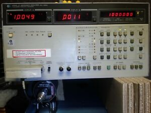 Hp 4192a Impedance Analyzer Calibrated Warranty Z Q D Gain phase Programmable