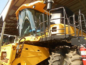 New Holland Gr6090 Combine Rwd Sn ygd116512 900 Separator Hours