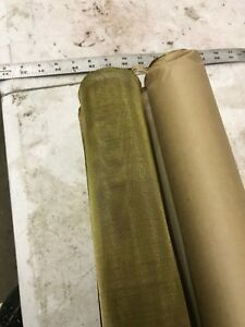 Maraine Ind Supply 30 Mesh Brass Wire Cloth Screen Mesh Roll 24 x36 Lot Of 2