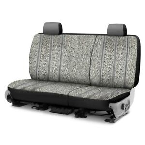 For Toyota Pickup 89 95 Saddleman Saddle Blanket 1st Row Gray Custom Seat Covers