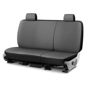 For Isuzu Rodeo 02 04 Saddleman Canvas 2nd Row Charcoal Custom Seat Covers