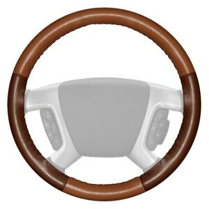 For Chevy Corvette 16 Steering Wheel Cover Eurotone Two color Tan Steering Wheel