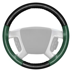 For Chevy Corvette 16 Steering Wheel Cover Eurotone Two color Black Steering