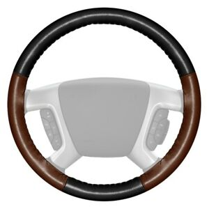 For Honda Accord 13 18 Steering Wheel Cover Eurotone Two color Black Steering