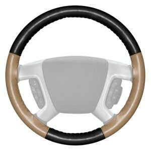 For Ford Focus 17 18 Steering Wheel Cover Eurotone Two color Black Steering