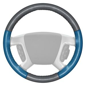 For Audi Q7 12 18 Steering Wheel Cover Eurotone Two color Gray Steering Wheel