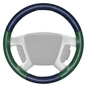 For Ford Focus 17 18 Steering Wheel Cover Eurotone Two color Blue Steering Wheel