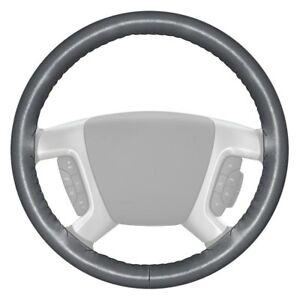 For Ford F 150 97 03 Wheelskins Original One color Gray Steering Wheel Cover