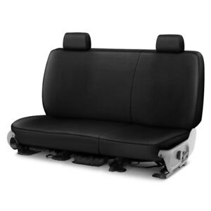 For Toyota Pickup 89 95 Saddleman Leatherette 1st Row Black Custom Seat Covers