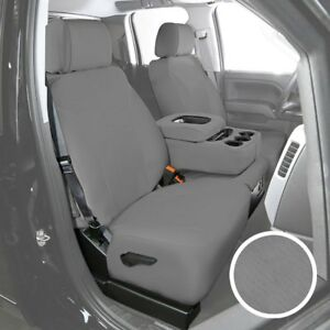 For Ford F 150 Heritage 04 Saddleman Neosupreme 1st Row Gray Custom Seat Covers